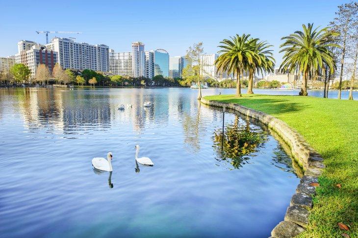 Lake Eola Park, Orlando, Florida