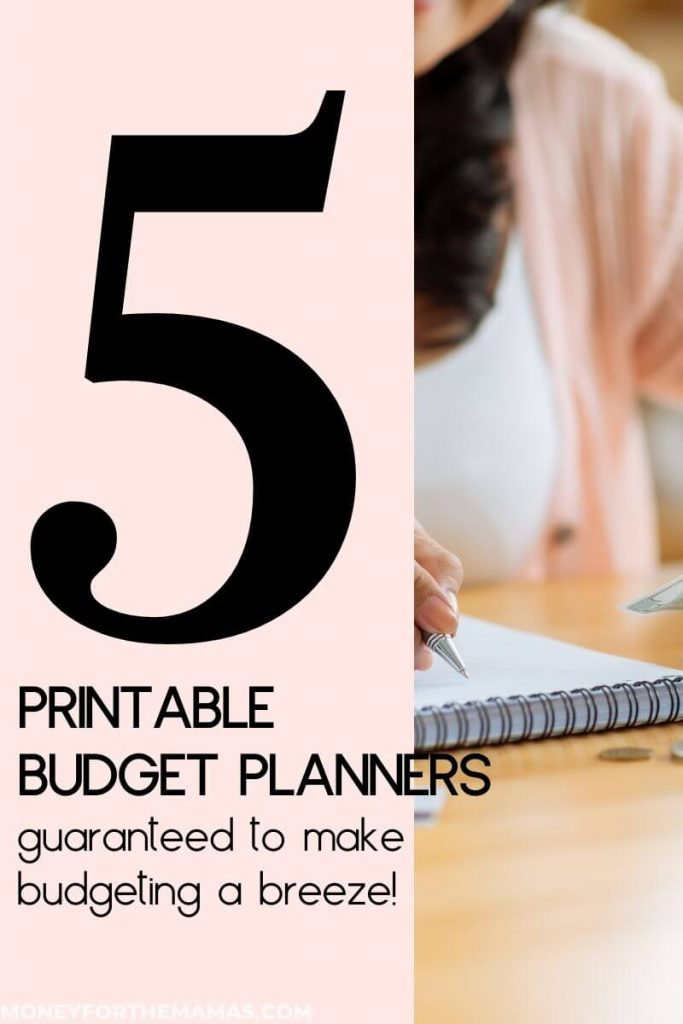 5 printable budget planners that make budgeting a breeze