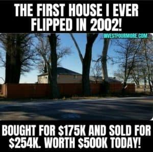 first house flip