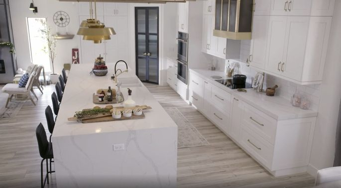 Drew and Jonathan Scott gave this kitchen a full-blown makeover.